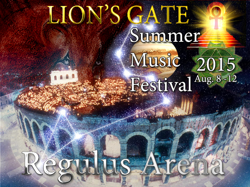 Regulus Arena is the host to The Lion's Gate Summer Music Festival