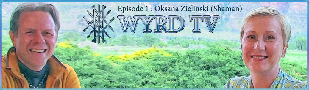 Oksana Zielinski and Patrick Michael Mooney on WYRD TV