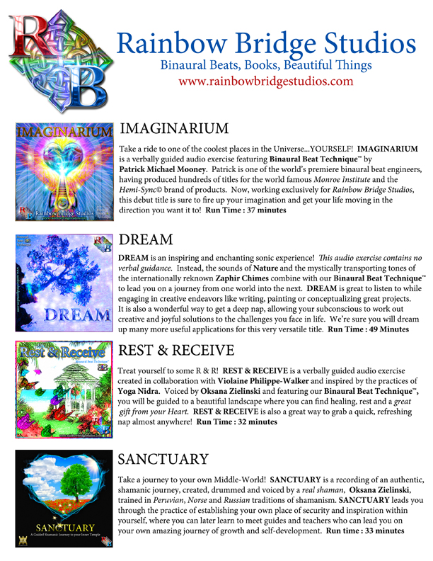 Support A Decade of Love and Expand your Imagination with products from Rainbow Bridge Studios!