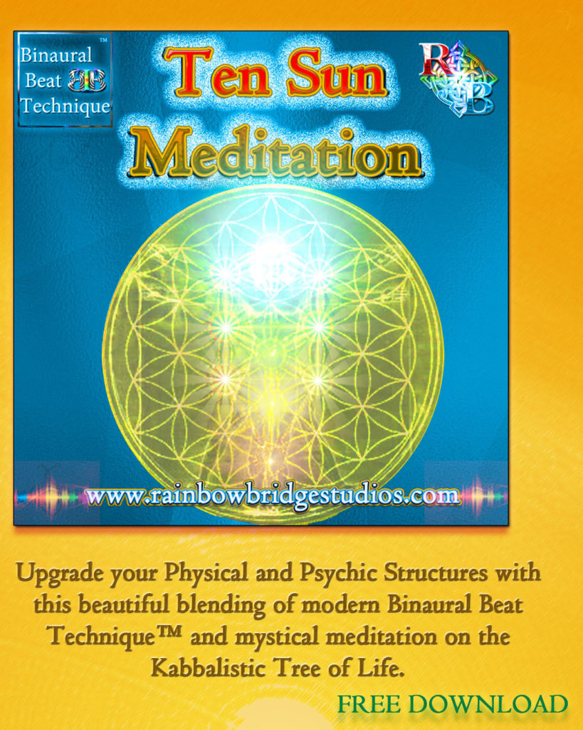 TEN SUN MEDITATION featuring Binaural Beat Technique™